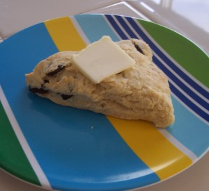 Blueberry - Lemon Scone