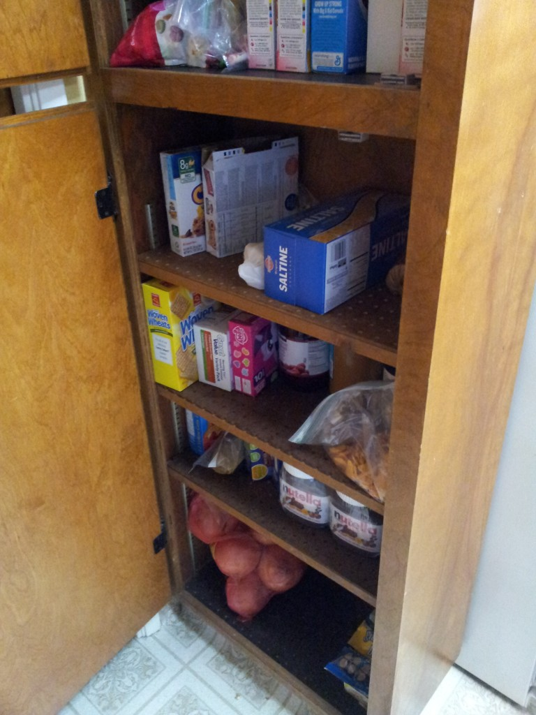 snack pantry mess