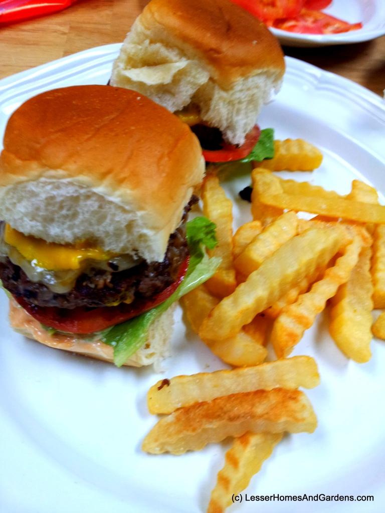 Kings Hawaiian Slider Burgers