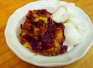 cherry pineapple cobbler dump cake